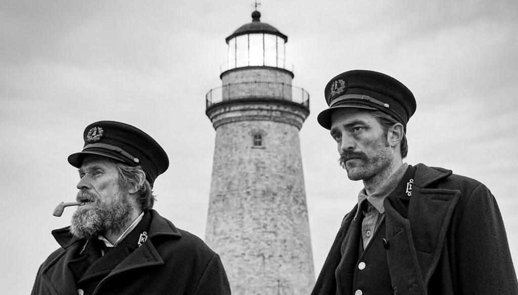 The Lighthouse: Robert Pattinson y Willem Dafoe