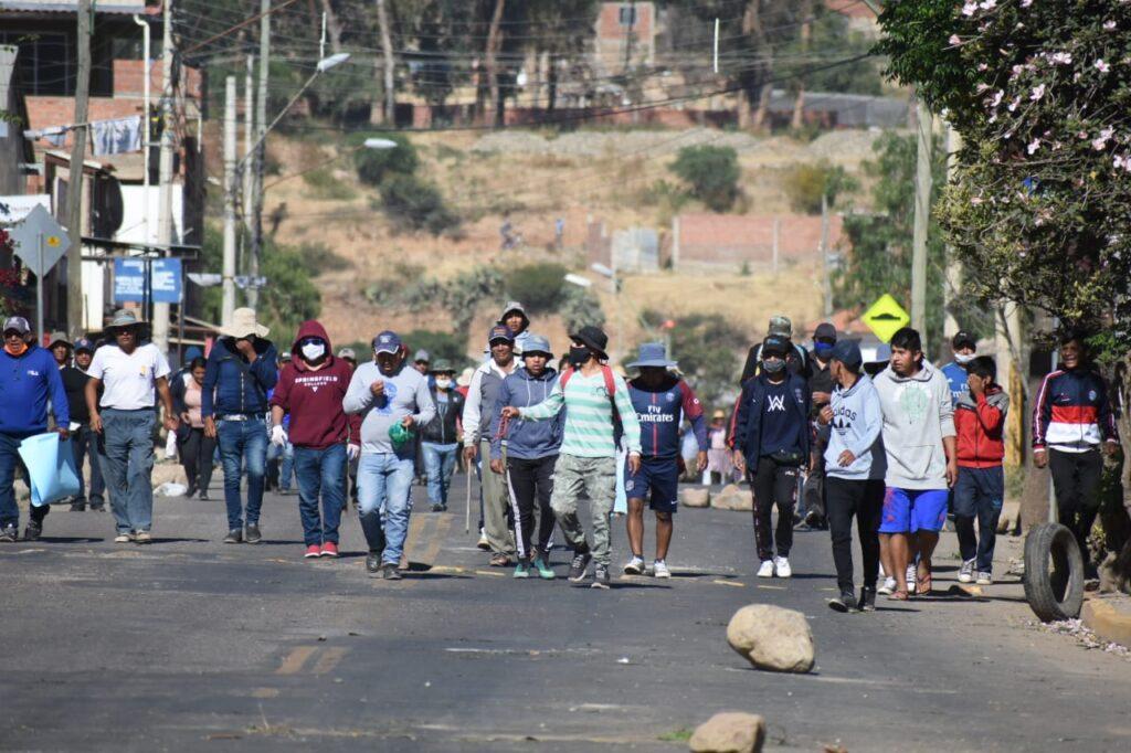 Las marchas del hambre: crónica de las movilizaciones en tiempos ...